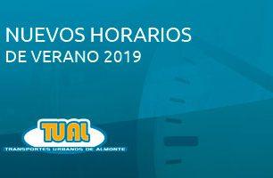 Noticias  Horarios de verano 2019